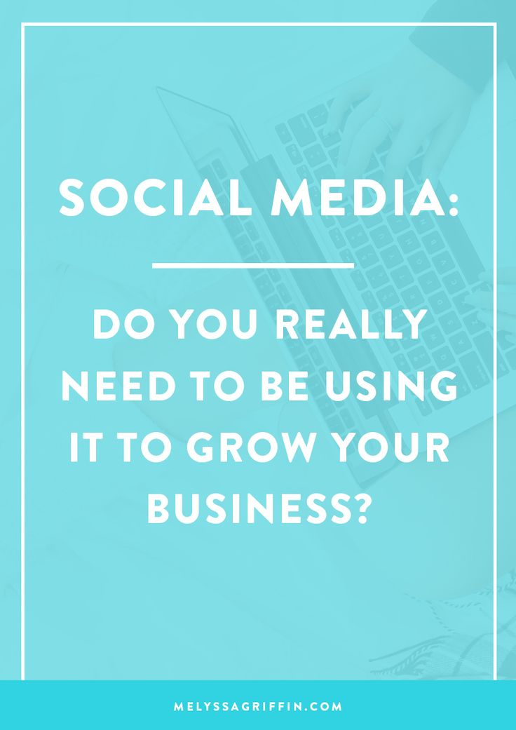 Do you need social media to grow your business? Find out here if social media is really worth it >>> | Social Media | Business Tips | Facebook Group