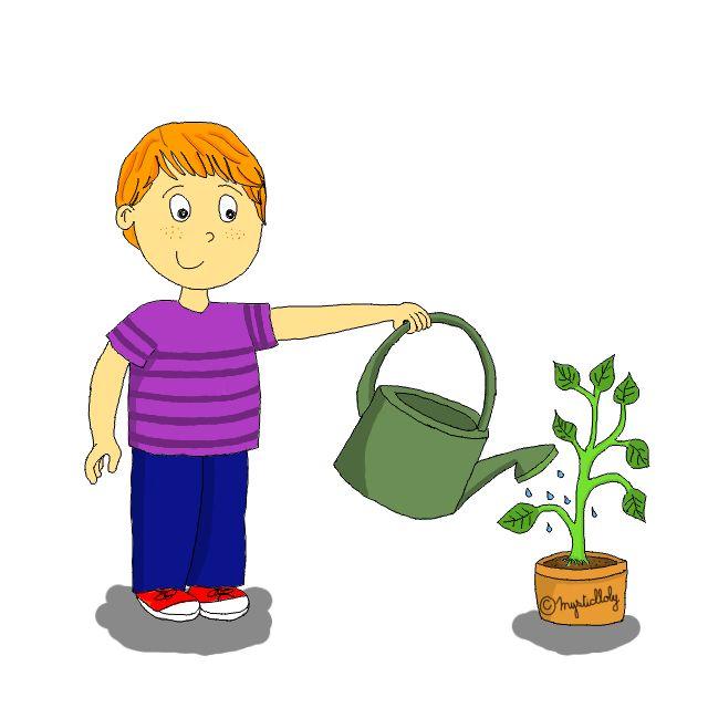 Responsable des plantes - Journal de bord d'une instit' débutante