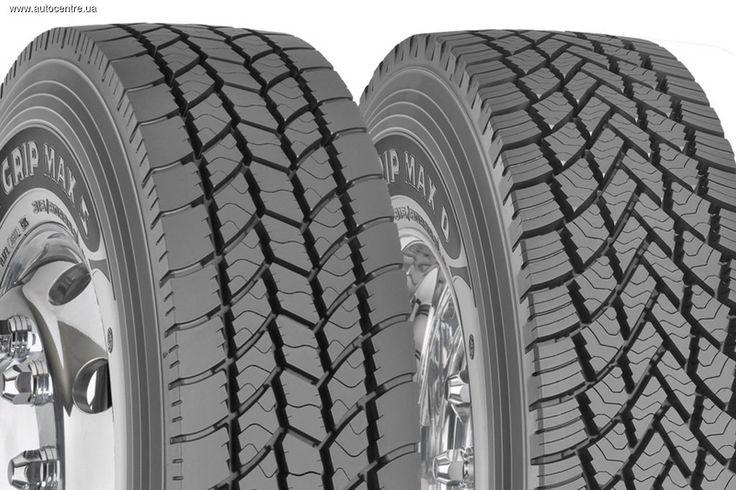 Goodyear представила новые зимние шины Ultra Grip Max для грузовиков