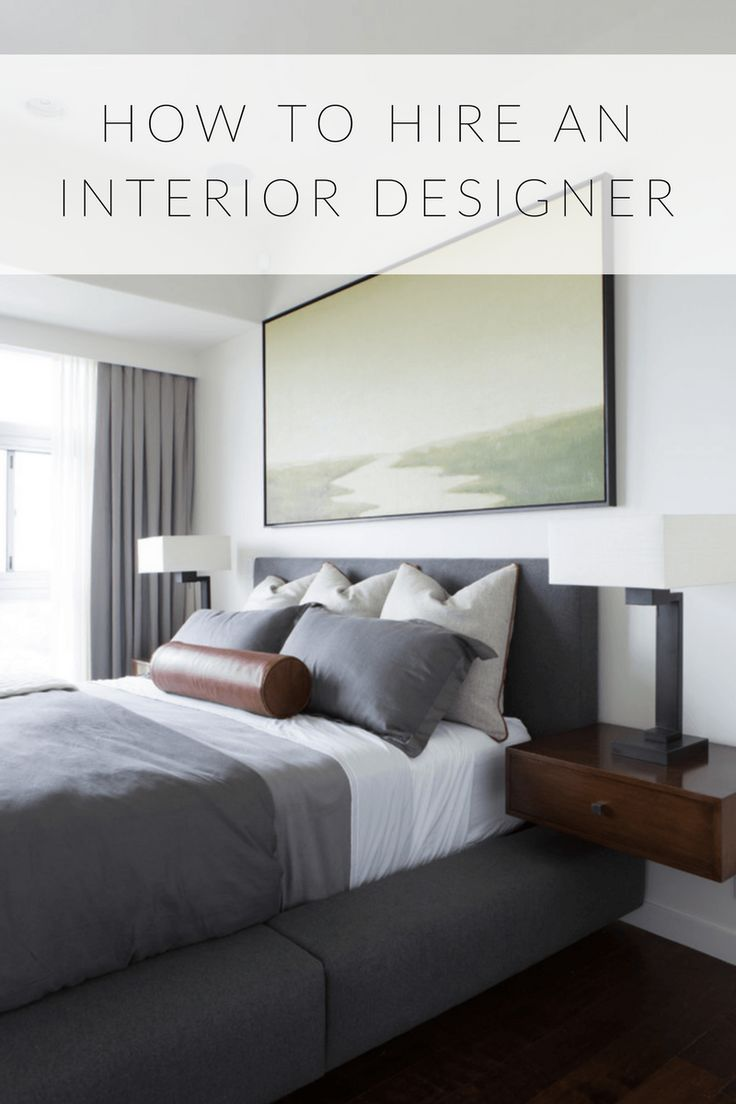 How to Hire an Interior Designer in 8 StepsFirst of All… What Do You Want?This first step might sound super obvious and simple, but think specifically about what you want to do with your interior design project – ie. furnish a room, remodel the kitchen, or renovate the entire home. Ask yourself: What styles do you like and what is your budget? This can help narrow down your search for the perfect designer based upon criteria and specialty. This determines where you might look for a designer