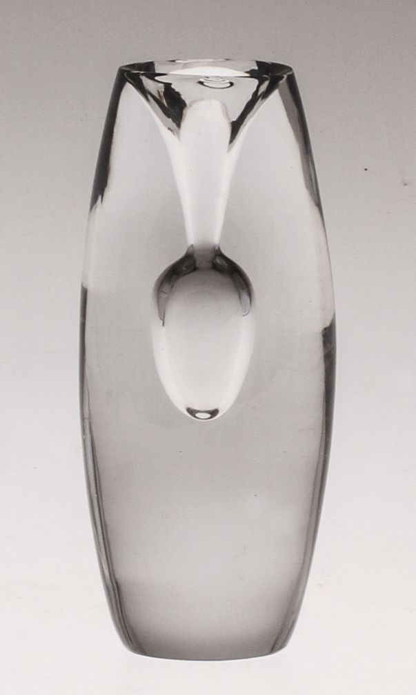 TAPIO WIRKKALA, Tokio vase, Iittala, 1955. Mouth blown glass.