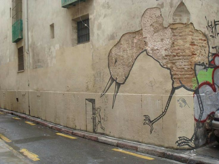 Best Ernest Zacharevic Images On Pinterest Urban Art - Clever free bird see graffiti spotted in chicago leads to a creative surprise