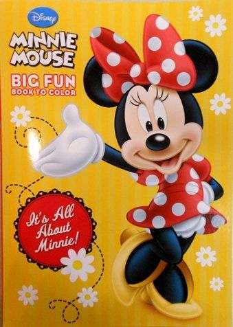 Disney Minnie Mouse Coloring Book Its All About