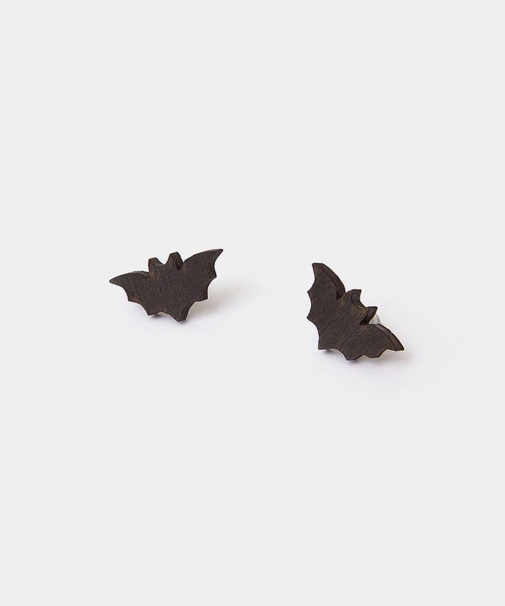 Itsy Bitsy Bat stud earrings