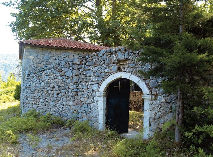 "The Monastery of the Virgin Mary Dormition, or Sideroporta (meaning ""The Iron Gate"") near #Kalamata #Greece"