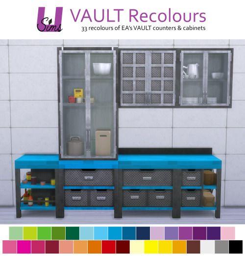 Vault Recolors At Unobservantsims • Sims 4 Updates