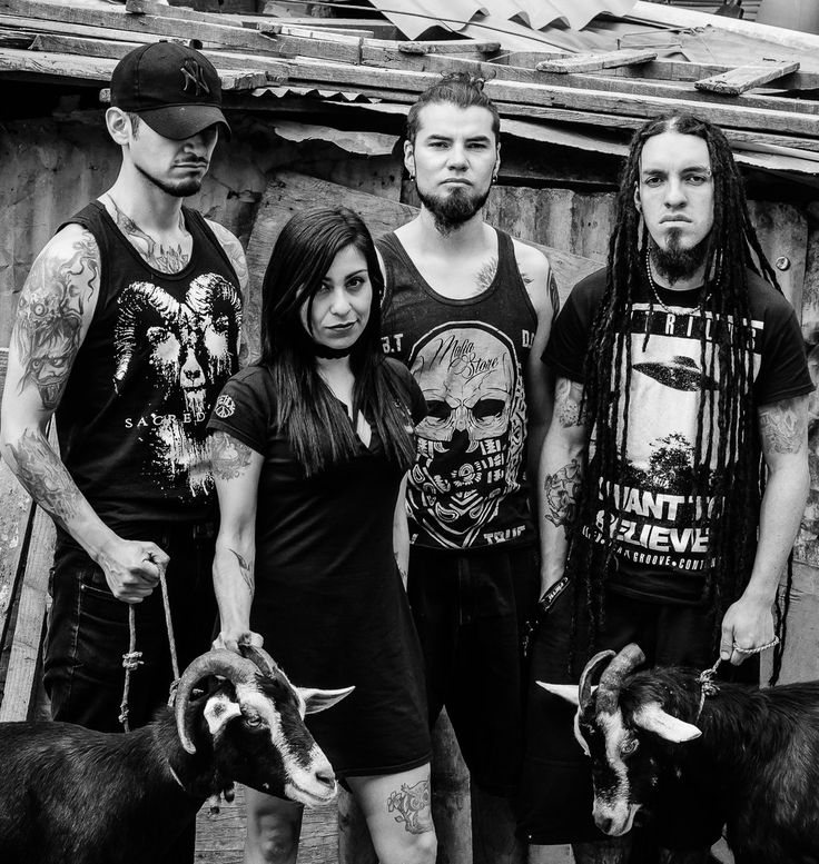 Sacred Goat #sacredgoat #sinfulself #metal #deathmetalband #spotify #deezer #itunes #colombia #bogota #death #thrasher #blackmetal #music #musica #femalevoice #girl #2017