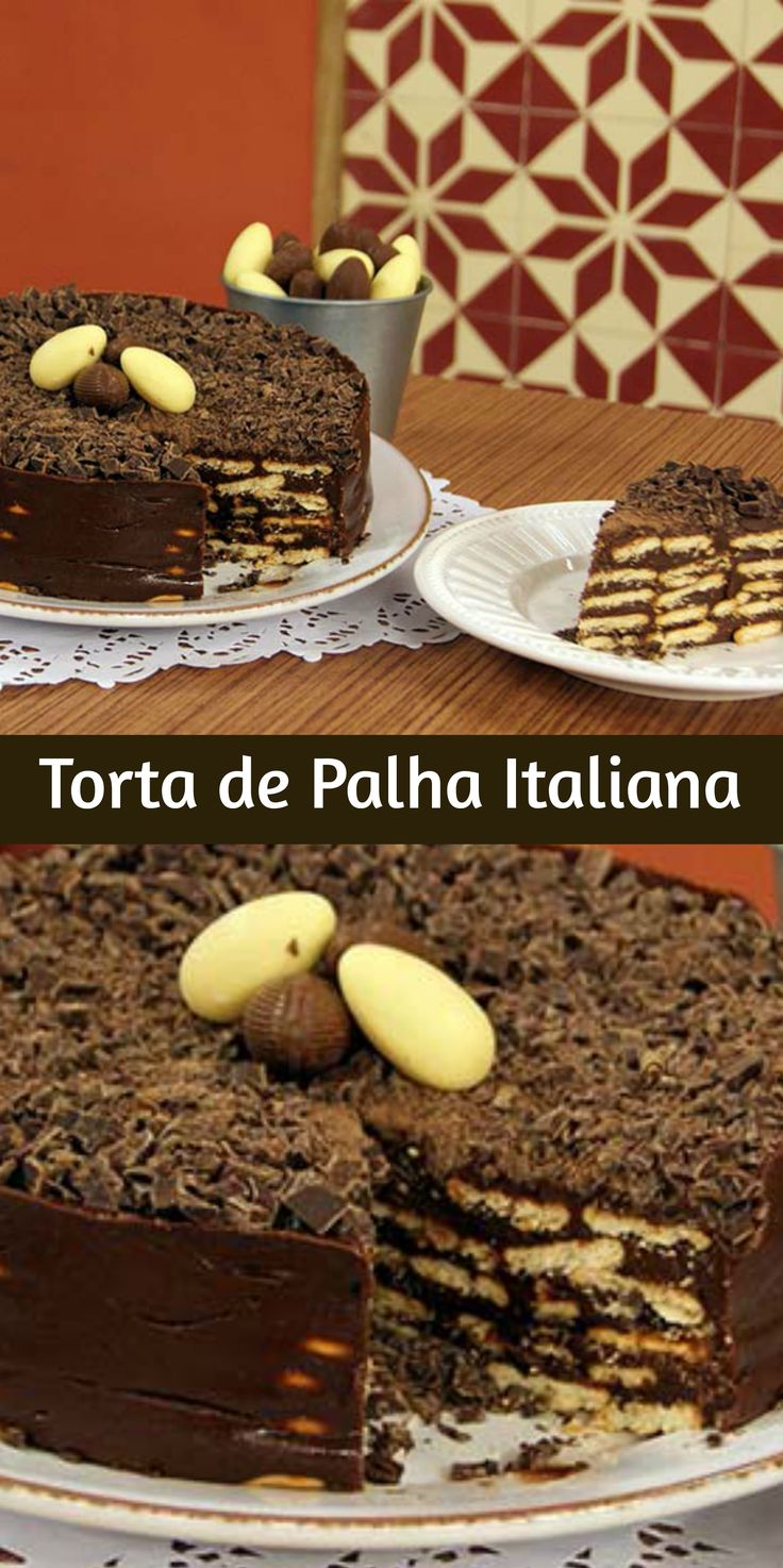Torta de Palha Italiana
