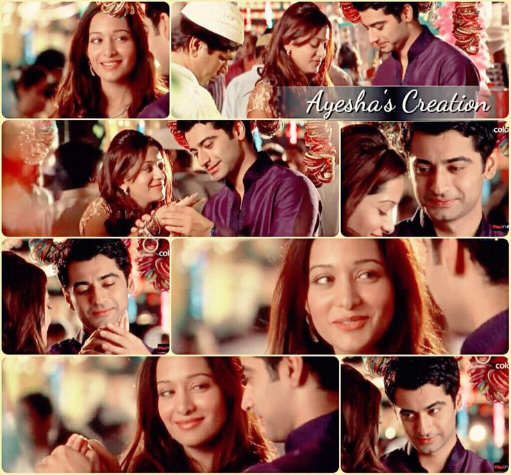 Beautiful scene Zain slide the bangles through Aaliya hands.