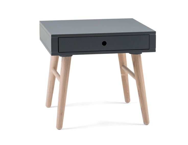 EMERSON - End table - Grey