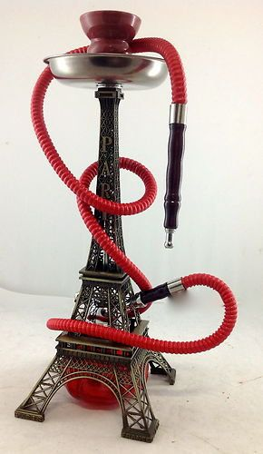 Eiffel Tower Hookah!  Come to Lux Lounge in West Bloomfield, MI to relax with friends at a premiere hookah lounge in an upscale atmosphere!  Call (248) 661-1300 for more information!