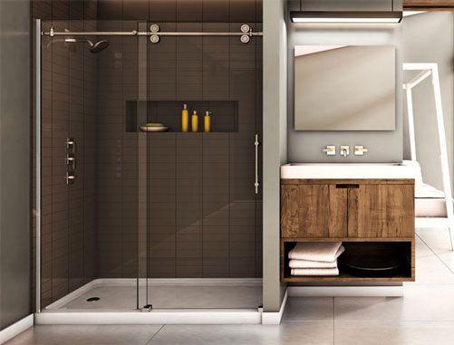 Matrix Mtxa By Caml Tomlin Shower Track At Top Of Door