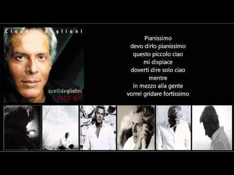 CLAUDIO BAGLIONI - Fortissimo