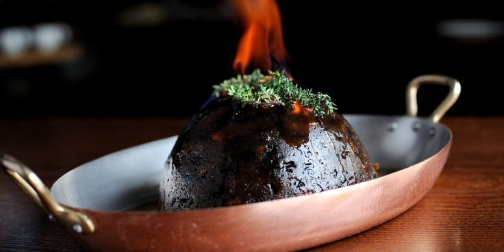 Christmas Pudding Recipe With Brandy Butter - Great British Chefs