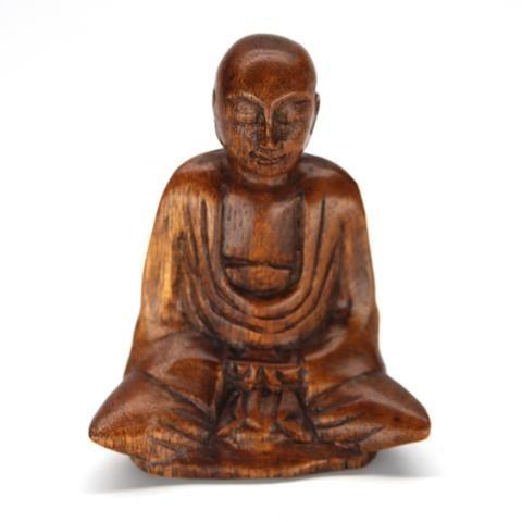 Damai Buddha Wood Carving