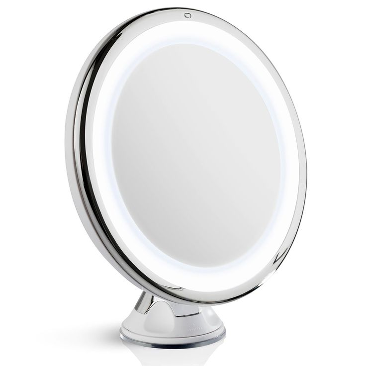 Luna Magnifying Mirror with Light 10x Magnifying
