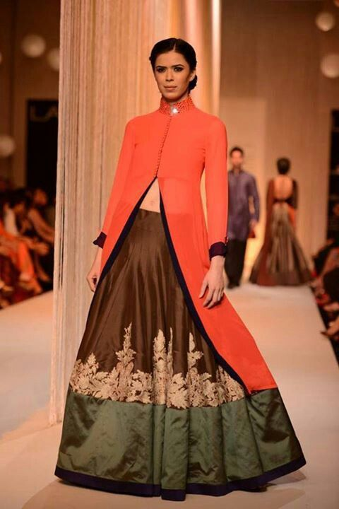 Manish Malhotra -- love the colors in this one.