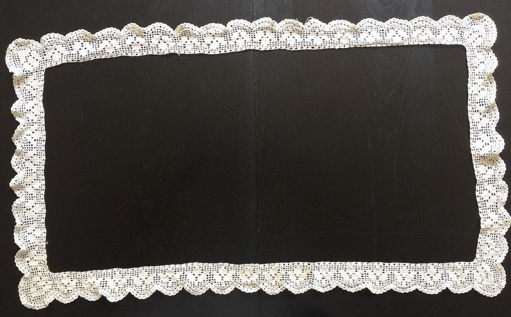 Hand Made Crochet Border Edge Surround for Tablecloth