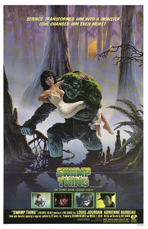 swamp thing | swamp thing swamp thing 1982 directed by wes craven this rewind review ...