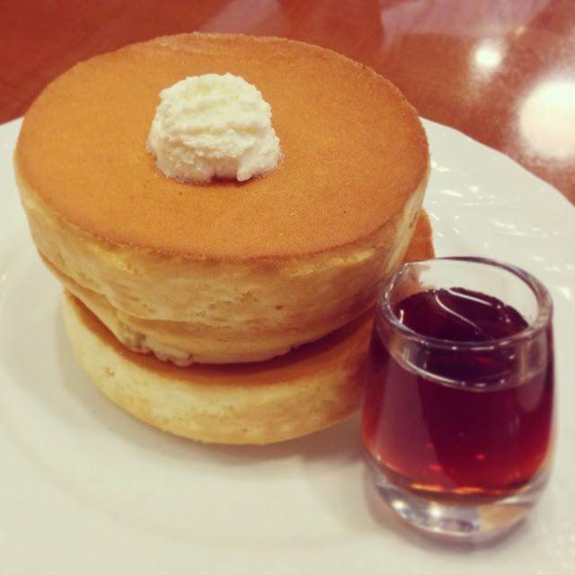 Hoshino coffee Souffle pancakes