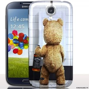Coque pour galaxy s 4 Teddy Jack   Housse Protection i9515. #SamsungS4 #Teddy #Jack #Cover