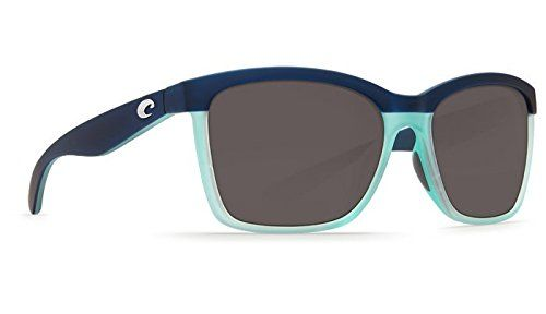 Costa Del Mar Anaa 73 Matte Caribbean Fade Sunglasses for Womens - Size 580G (Grey Lens) - http://todays-shopping.xyz/2016/08/05/costa-del-mar-anaa-73-matte-caribbean-fade-sunglasses-for-womens-size-580g-grey-lens/