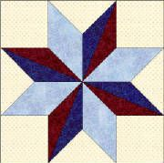 Alabama...quilt blocks to represent all 50 states