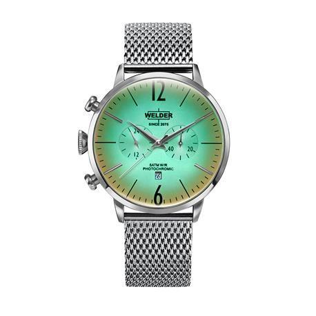 Reloj señora y caballero WELDER Moody. Verde menta. WRC400