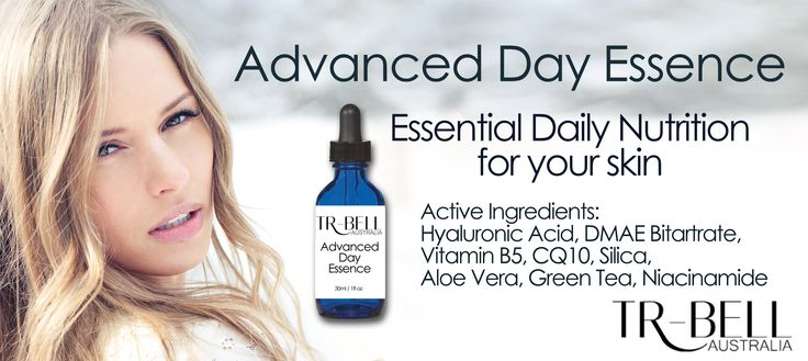 TR-Bell Australia - Pure Skin Care | Infused with vitamins and DMAE for lifting and tightening.