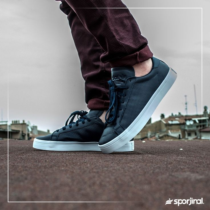 adidas Court Vantage Erkek Lacivert Spor Ayakkabı (S78774) - Instagram - Özel İçerik Sayfaları