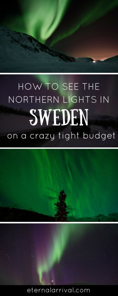 Want to see the Northern lights in Sweden but traveling on a budget? Abisko is one of the best places to see the beautiful aurora borealis. Tick this off your bucket list for under $350 USD including flights from Stockholm!