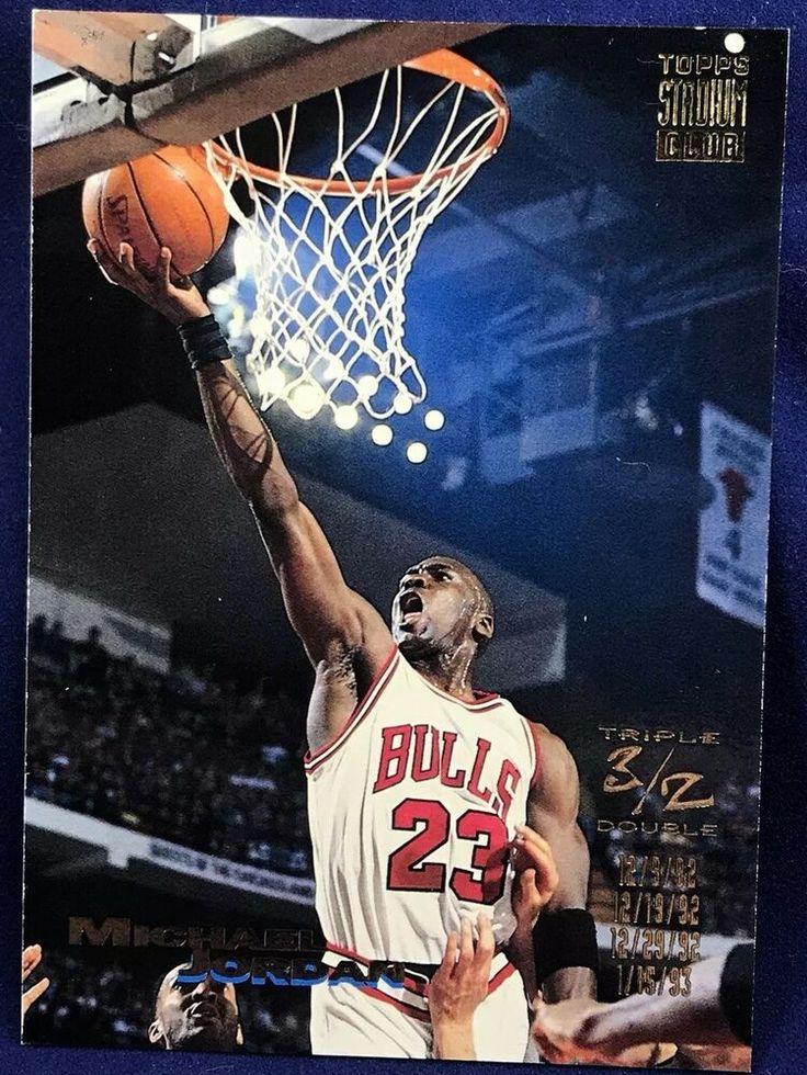 19931994 topps michael jordan basketball card 1 ebay