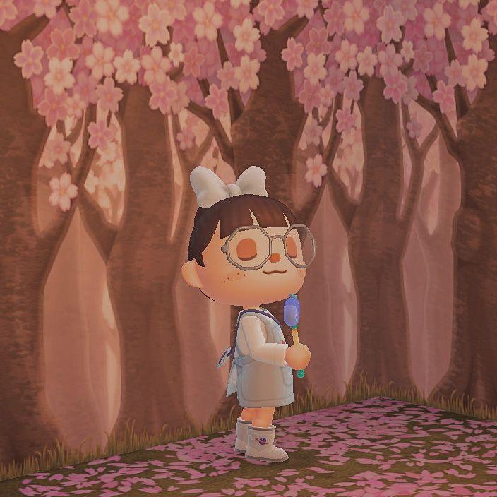 Animal Crossing New Horizons Character Photoshoot Animal Crossing Cherry Blossom Wallpaper Animals