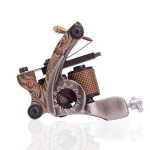 New Cast 10 Laps Coils Tattoo Machine Liner Shader Gun Hb-wgd012b
