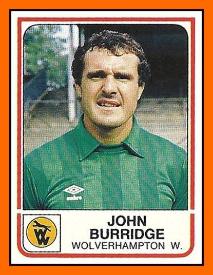 john burridge - Wolverhampton Wanderers FC 1984