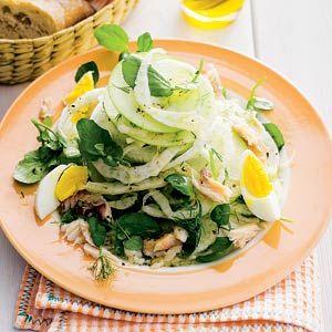 Vrijdag 21 september: Recept - Venkel-appelsalade - Allerhande. Lijkt me heerlijk.