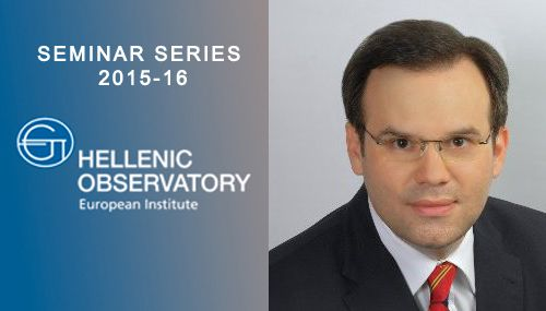 Seminar: Evaluating the structural reform of central government departments in Greece  Tuesday, 13 October 2015 (18:00-19:30) |@ LSE