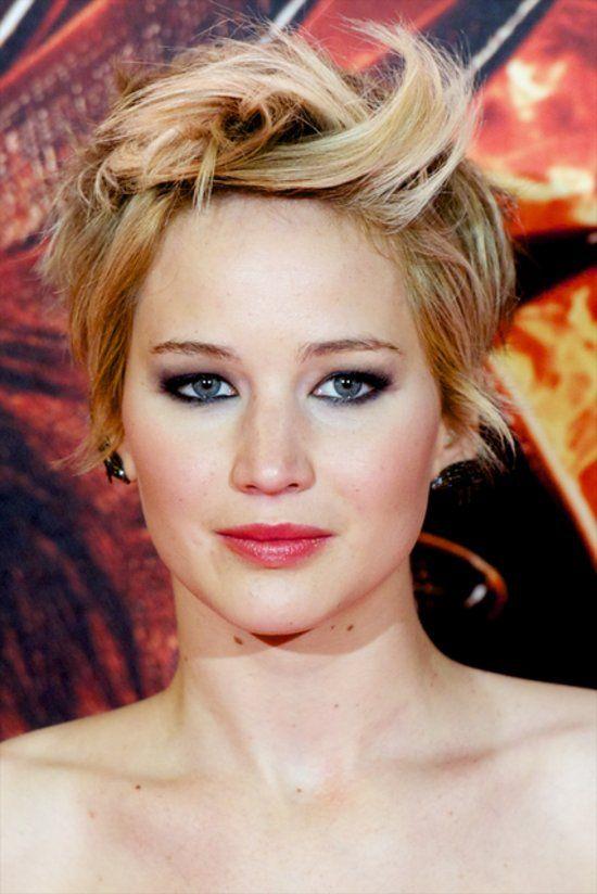 Jennifer Lawrence Short-Hair Comparisons