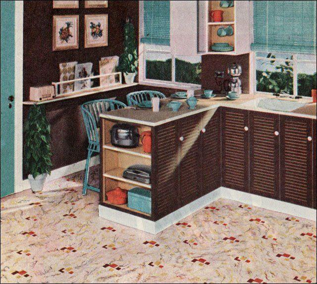 72 Best Orange Kitchens Images On Pinterest: 72 Best Linoleum Images On Pinterest