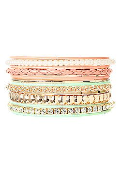 rue21 : Jewelry-- like those stackable bracelets seen on Pinterest?! You can find them at rue 21!