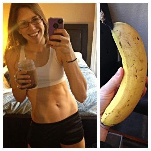 Результат банановой диеты