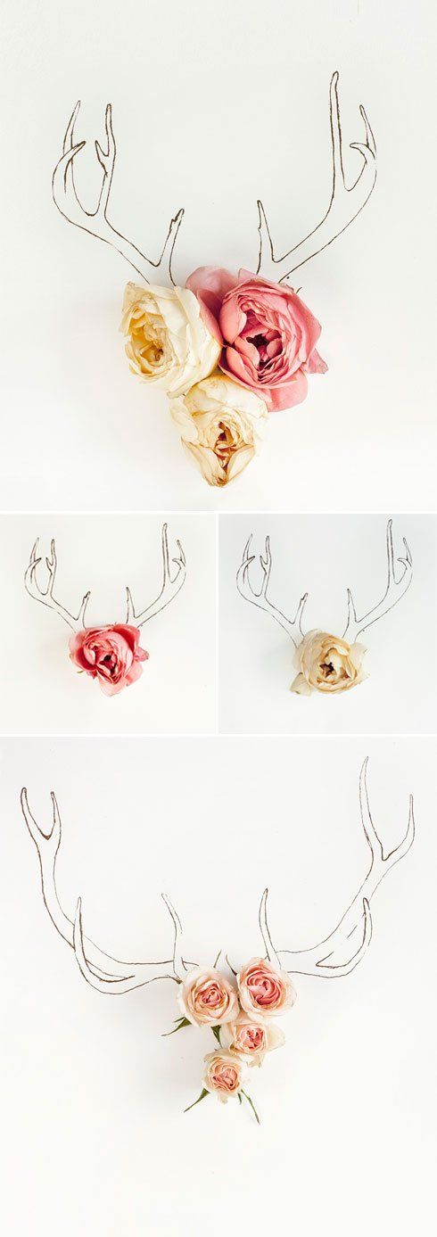 antler-and-flowers. So cool for girl hunters