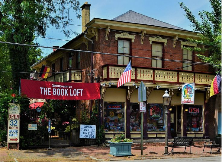 The Best Bookstorein Every State - Ohio:The Book Loft of German Village from InStyle.com