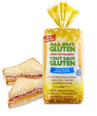 All But Gluten™ Sliced white loaf