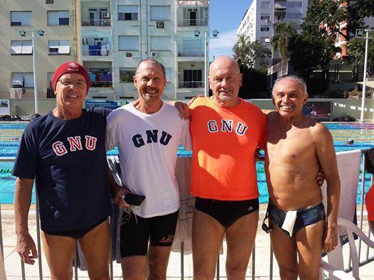GRÊMIO NÁUTICO UNIÃO SEGUE LÍDER NO CAMPEONATO GAÚCHO MASTER DE NATAÇÃO