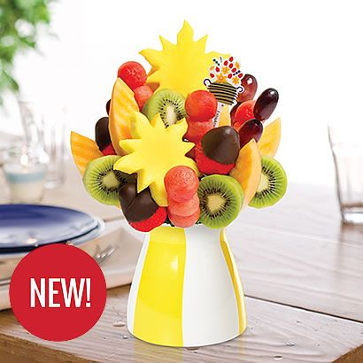 Edible Arrangements® fruit baskets - Watermelon Kiwi Summer Daisy ™ Dipped Strawberries