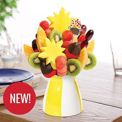 Edible Arrangements® fruit baskets - Watermelon Kiwi Summer Daisy ™ Dipped Strawberries