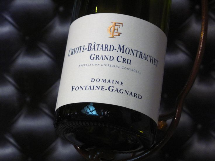 Criots-Bâtard-Montrachet Grand Cru 2010. Domaine Fontaine Gagnard. Vin blanc de…