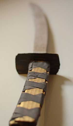 Make a Samurai sword with this easy tutorial for kids