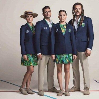 A estilista Lenny Niemeyer e C&A assinam o uniforme de desfile do Time Brasil para as cerimônias de abertura e encerramento dos Jogos Olímpicos Rio 2016. Confira os looks na www.flashesefatos.com.br